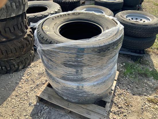 4 Unused ST235/85R16 Tires