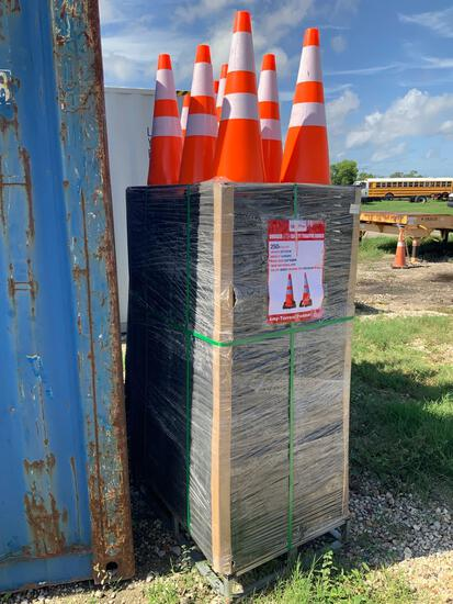 250 Unused 28in Road Safety Cones