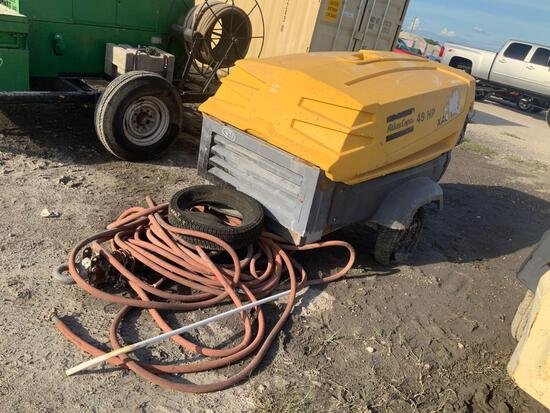 Atlas Copco XAS 185 Towable Air Compressor