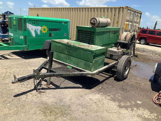 Sullair Trailer Mounted Air Compressor