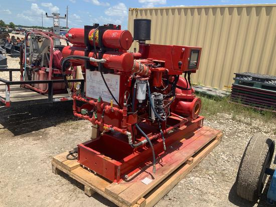 2018 Cummins CFP5E Fire Pump Driver