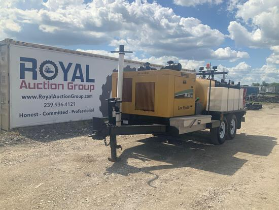 2011 Vermeer Low Profile Air 555 SDT Vacuum Excavation Trailer