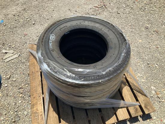 Three 8-14.5 Tires
