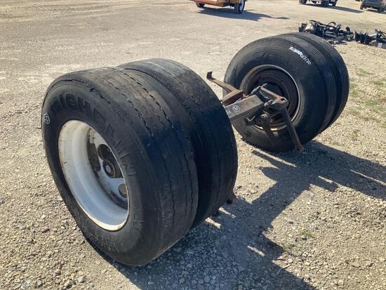 Dual Tire Axle