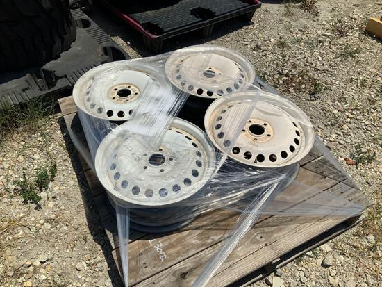Four Unused Ford Transit Connect Wheels