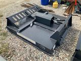 Unused 72in Skid Steer Hydraulic Brush Cutter