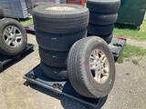 Five 265/70R16 Tires W/ Rims