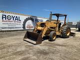 Ford 345C Front End Loader Tractor with Box Blade