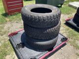 Three 265/70R17 Tires