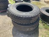 Three 315/80R22.5 Tires