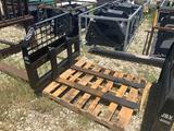 Unused JBX 4000LB 48in Skid Steer Forks