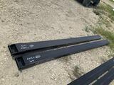 Set of 2 Unused Skid Steer Fork Extensions