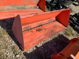 Kubota TL1746 72in Tractor Loader Bucket