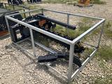 Unused 60in Skid Steer Hydraulic Trencher