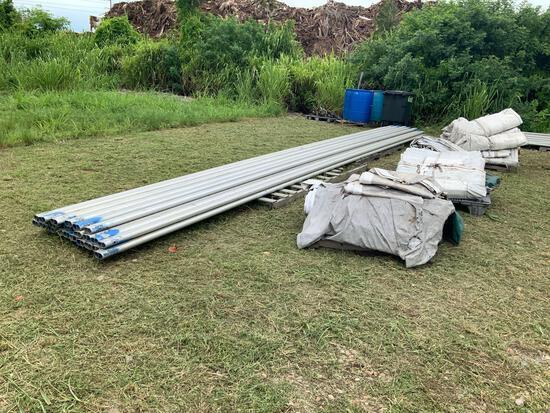 50ft x 150ft x 8ft (Sidewalls) Frame Tent