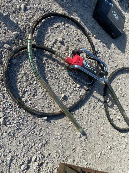Unused Mustang CV3500 Concrete Vibrator