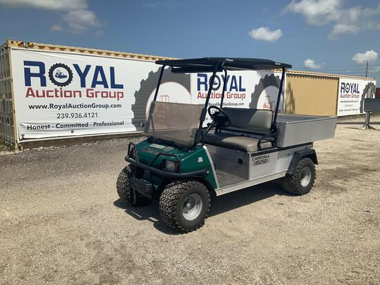 Club Car Carryall 252 Hydraulic Dump Cart