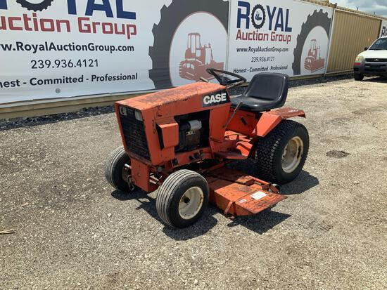 1978 CASE 222 Garden Tractor Mower