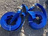 2 Unused 50ft 2in PVC Discharge Hose