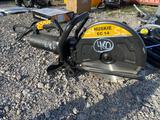 Unused Huskie EC14 Electric Concrete Saw with Blade
