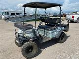 Bad Boy Buggy 4x4 Quiet Electric Off Road Cart