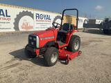 Massey Ferguson MF1220 4x4 Utility Tractor with Mower Deck