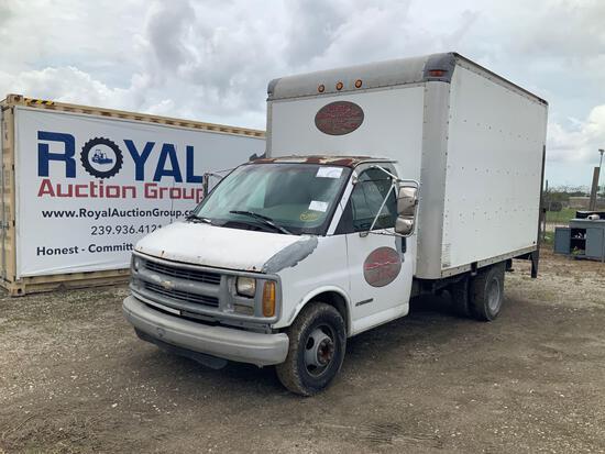 2000 Chevrolet Express Van 3500 Box Truck