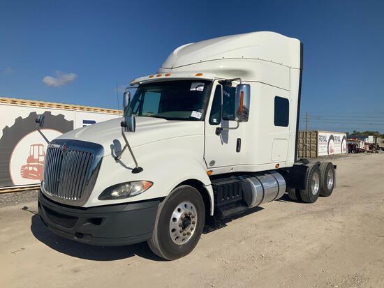 2015 International ProStar Sleeper Truck