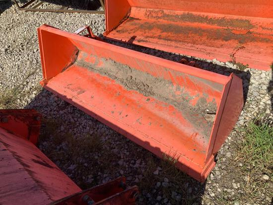 Kubota L1769 72in Tractor Loader Bucket