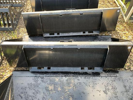 Unused Skid Steer Bucket 72in