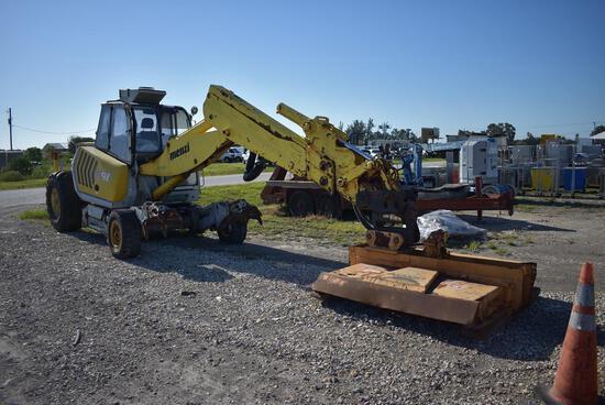 Menzi Muck A91 4x4 Walking Wheeled Excavator