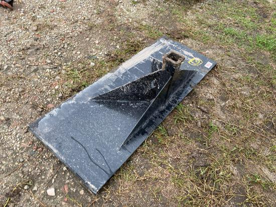 Unused Skid Steer Trailer Mover Hitch