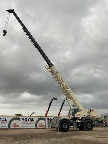 2014 Terex Quadstar 1100 110 Ton Rough Terrain Crane
