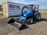 New Holland TC40D 4WD Front End Loader Tractor