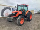 Kubota M9540D 4WD Enclosed Cab Tractor