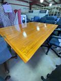 Large Wood Table - Detachable Top