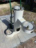 Outdoor Stainless Drinking Fountain