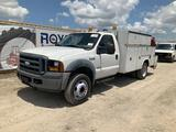 2007 Ford F-550 Fuel and Lube Service Truck