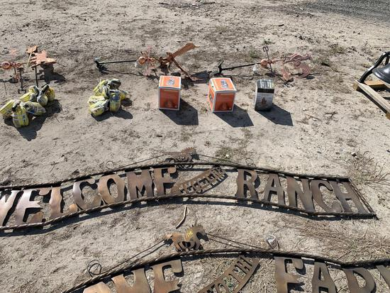 Welcome to the Ranch sign - 10ft