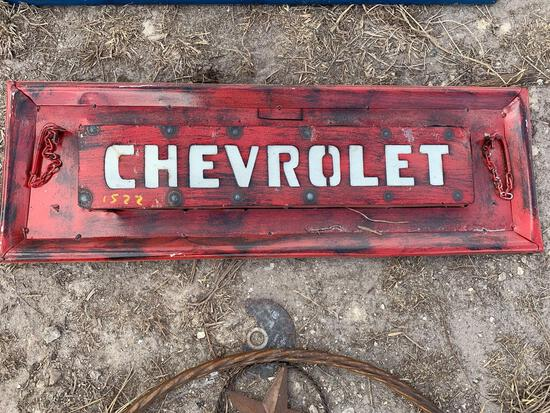 Chevrolet Tailgate Metal Art
