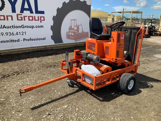 Salsco EGR Electric Greens Roller with Trailer
