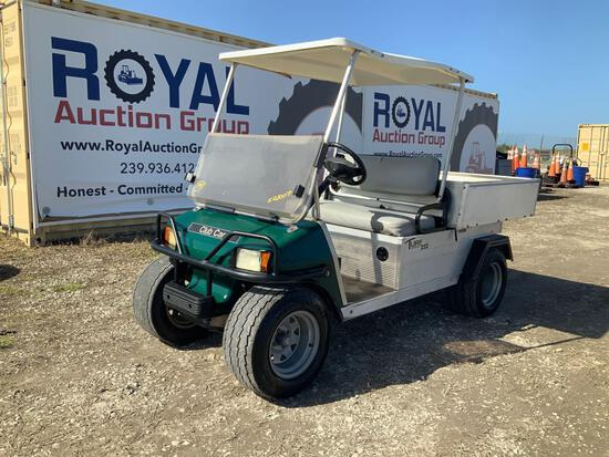 2012 Club Car Carryall Turf 252 Aluminum Dump Cart