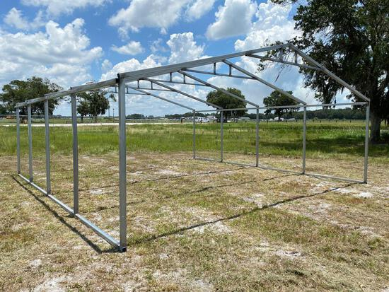 23 x 24 FT Galvanized Structure