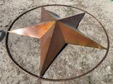 Large 6ft Star lawn ornament