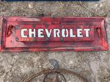 Chevrolet Tailgate Metal Art