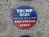 Trump 2020 Metal Sign