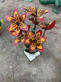 Flowers Yard Art