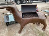 Large Bull BBQ Smoker