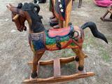 Wood Made Rocking Horse