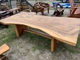 Teak Wood Made Large Family Dinner Table